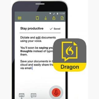 Dragon Anywhere for Android and iOS (US and Canada Only) - 12 Month