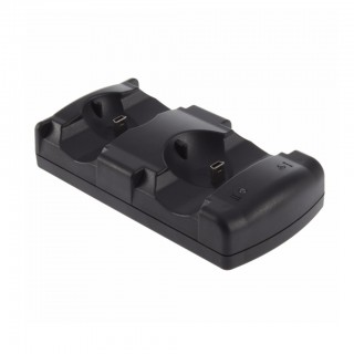 Dual USB Charging Dock for PlayStation Move/PS3 Controllers