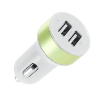 Dual USB Universal Car Charger Compatible with All Phones