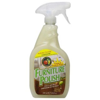 Earth Friendly Products Furniture Polish,Furniture Polish,22 Fl Oz,Each,973112