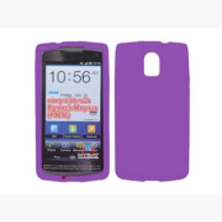 Electric Purple Silicone Gel Skin Phone Case Protector for Pantech Discover P9090