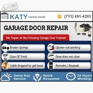 Emergency New Garage Door Installation company in Katy, TX