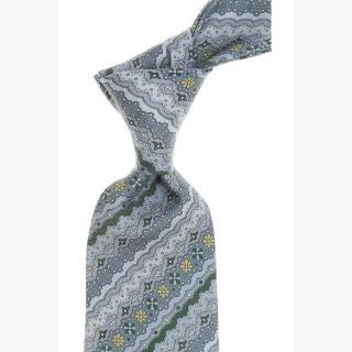 Emilio Pucci Ties On Sale, Steel Grey, Silk, 2017