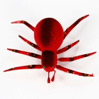 Emulational Spider Design Fridge Magnet Magnetic Sticker Red