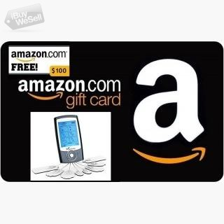 Enter for Free to Win $100 Amazon Gift Card! and Medvive Tens Unit