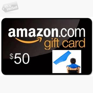 Enter for Free to Win $50 Amazon Gift Card! and Gurin Neck Cold Pack