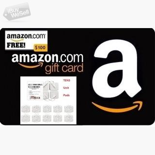 Enter for Free to Win a $100 Amazon Gift Card! and Electrode pads