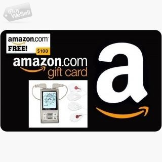 Enter for Free to Win a $100 Amazon Gift Card! and SantaMedical Tens unit