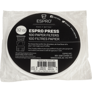 Espro Paper Coffee Filters 32 oz.