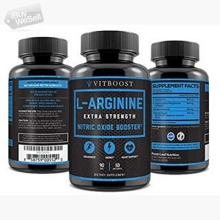 Extra Strength L Arginine 1500mg - Nitric Oxide Supplements