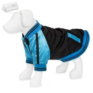 F&R for VP Pets Windbreaker Baseball Jacket - Blue