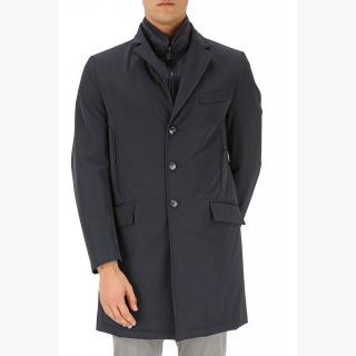 Fay Men\'s Coat, Navy Blue, polyamide, 2017, L M S XL XXL XXXL