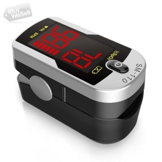 Finger Pulse Oximeter SM-110 with Carry Case