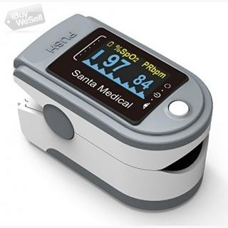 Fingertip Pulse Oximeter Oximetry Blood Oxygen Saturation Monitor