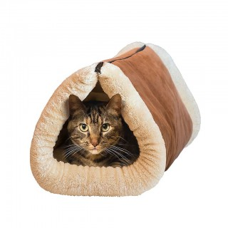 Foldable Warm-Keeping Pet House Mat Sleeping Bags Cat Tunnel