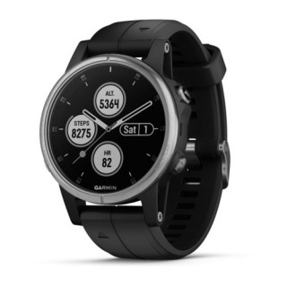 Garmin f¨¥nix 5S Plus GPS Smartwatch with Contactless Payments and Wrist-based Heart Rate Waterproof