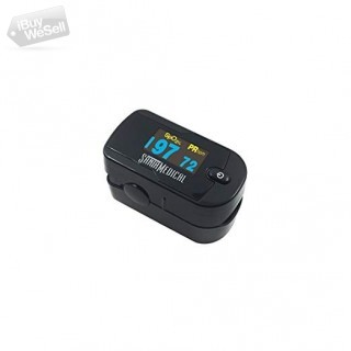 Generation 2 OLED Black Color Fingertip Pulse Oximeter