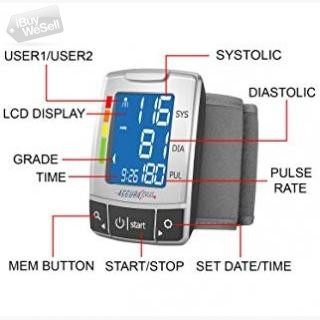 Get 40% OFF on Accurapulse Wrist Blood Pressure Monitor buy now at $15.57 on Amazon