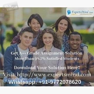 Get Top-notch Quality Solutions For Your University Assignments At Expertsmind!