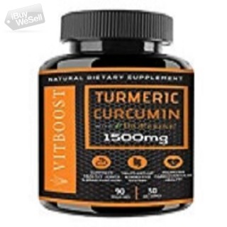 Get best discount on Turmeric Curcumin with BioPerine on Thanksgiving day and Black Friday