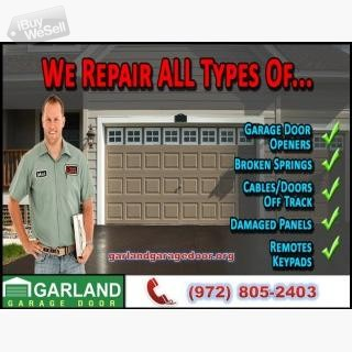 Getting the Quality Garage Door Repair Services in Garland, TX