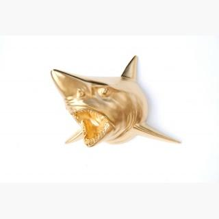 Gold Shark Wall Mount - Faux Taxidermy Sh08