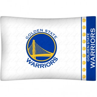Golden State Warriors Pillowcase - NBA Basketball Team Logo Bedding Pillow Cover