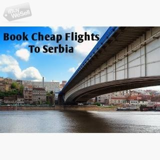Great Discounts On Flight Tickets To Serbia I  Contact me