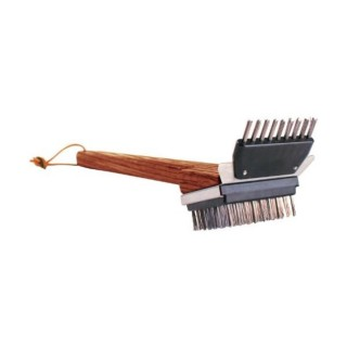 Grill Daddy GB41011S Small Wooden Grill Brush