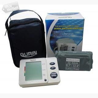 Gurin Automatic Medium Upper Arm Blood Pressure Monitor with Large Display