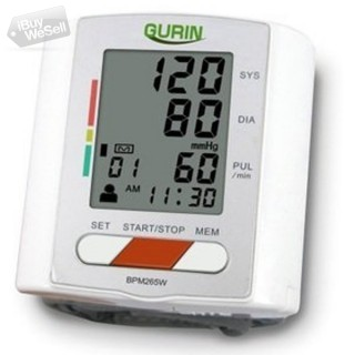 Gurin Pro Series Wrist Blood Pressure Monitor