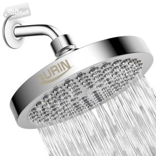 Gurin Rain Shower Head High Pressure Spa System, Luxury Bathroom Showerhead