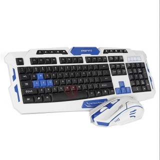 HK8100 Wireless Keyboard & Mouse Combo Waterproof Gaming Kit for PC/Laptop