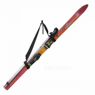 Handi Ski Tote Ski Backpack Carrier Ski Carry Sling Strap Shoulder Strap - Hold Poles! No Skis And P