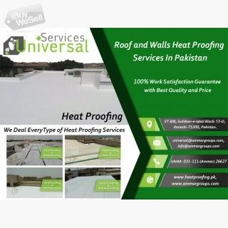 Heat Proofing For Roof and Walls Services in karachi, Pakistan