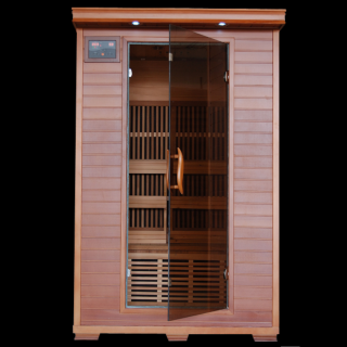 Heatwave SA1309 2 Person Cedar Cedar Carbon Infared Sauna