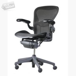 Herman Miller Classic Aeron Chair - Size B, Fully Loaded - Open Box (Illinois ) Chicago