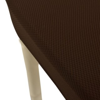 High Quality Soft Polyester Spandex Chair Cover Slipcover Red