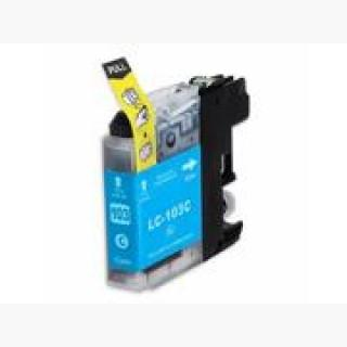 INKUTEN BROTHER MFC-J470DW INK CARTRIDGE (CYAN) COMPATIBLE