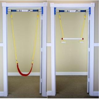 Indoor Swing Combo Kit With Bar Swing And Trapeze