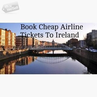 Ireland Flight Tickets At Lowest Airfares I  Contact me