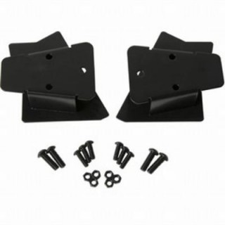 Kentrol Mirror Relocation Brackets (Black Stainless Steel) - 50542