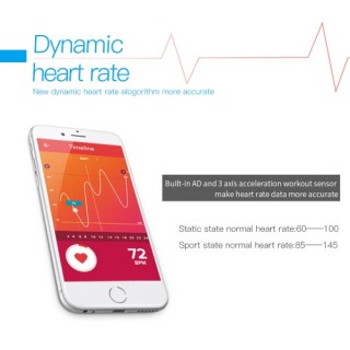 L38i Heart-rate Smart BT Sport Wristband Calls Notification Activity Tracking Sleep Monitor for iPho
