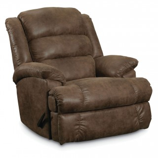 Lane Furniture FastLane Furniture Knox Rocker Recliner in Shogun Mocha