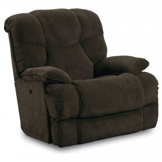 Lane Furniture FastLane Furniture Luck Power Recliner in Big Time Chocolate