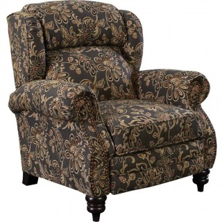 Lane Furniture FastLane Furniture Norwich Hi-Leg Recliner in Ambrose Twilight
