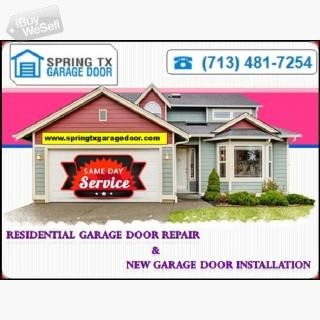 Leading New Garage Door Installation company | Spring, TX