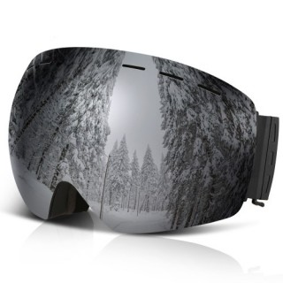 Lixada Ski Snowboard Goggles OTG Anti-fog UV Protection