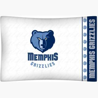 Memphis Grizzlies Pillowcase - NBA Basketball Team Logo Bedding Pillow Cover
