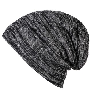 Men Winter Plus Velvet Soft Warm Beanies Hat
